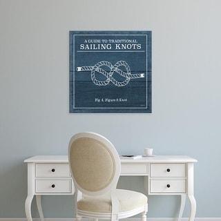 Easy Art Prints Mary Urban's 'Vintage Sailing Knots IV' Premium Canvas Art