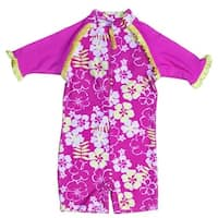 Banz S13SS-SB-2 2013 Baby Swimsuit, Sun Blossom - Size 2