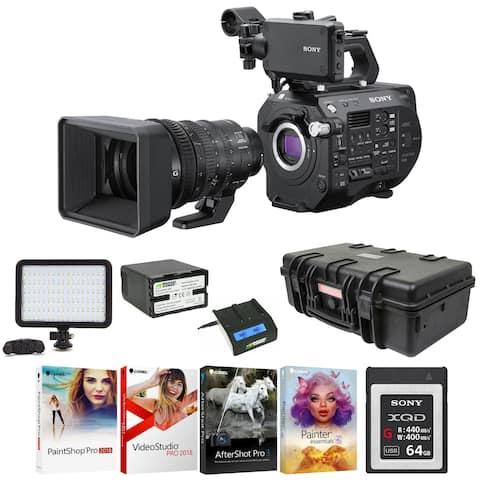 Sony PXWFS7M2K XDCAM Super 35 Camcorder with 18-110mm Zoom Lens Bundle