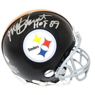 Mel Blount AutographedSigned Pittsburgh Steelers Mini Helmet HOF JSA