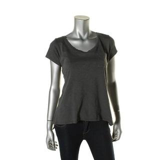 Alternative Apparel Womens Slub Hi-Low T-Shirt