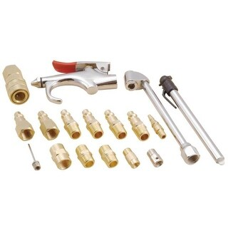 Mintcraft CC910 Air Tool Accessory Kit, 17-Piece