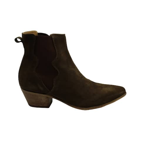Steven by Steve Madden Womens Kelsee Suede Closed Toe Ankle Fashion Boots - 6