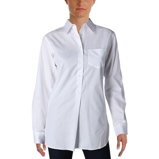 Lauren Ralph Lauren Womens Aquene Button-Down Top Long Sleeves Collared (3 options available)