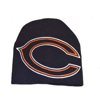 Chicago Bears Hype Oversized Logo Beanie