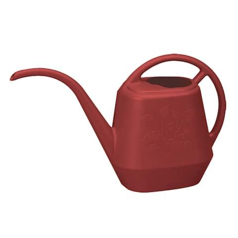 Bloem Watering Can Aqua Rite 1/2 Gal. (56 oz) Burnt Red - 1/2 Gal. (56 oz)