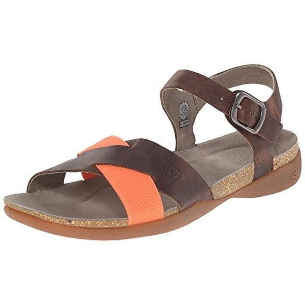 Keen Womens Dauntless Strappy Sandals Leather Buckle