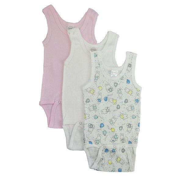 Bambini Girls' Printed Tank Top - Size - Newborn - Girl