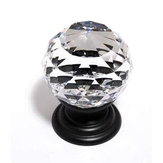 Alno C210 Crystal 1-1/4 Inch Diameter Round Cabinet Knob