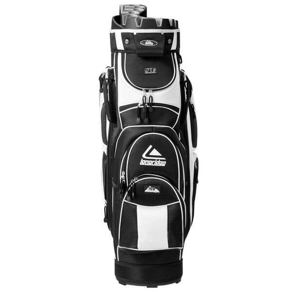 Shop Costway Golf Cart Bag 14 Way Organizer Divider Top 12 Pockets on