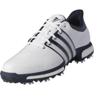 Adidas Men s Tour 360 Boost White Dark Slate Golf Shoes Q44822 Q44830 3dcead41713