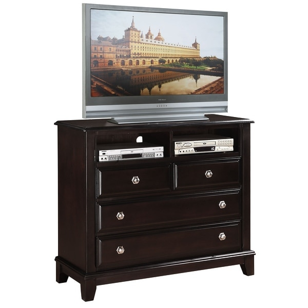 Ashford 4-drawer Wood Entertainment Center. Opens flyout.