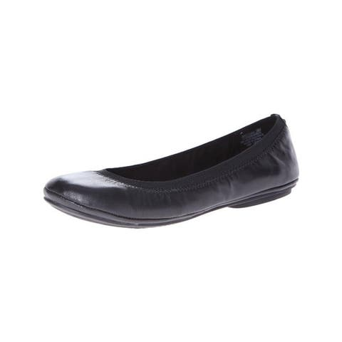 Bandolino Womens Edition Ballet Flats Leather Round Toe