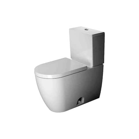 Duravit 2171010085 ME By Starck 1.28 GPF Single Flush Two-Piece Elongated ADA Height Toilet Bowl Only