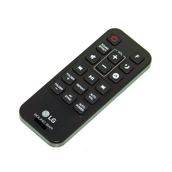OEM LG Remote Control Originally Shipped With: SH5B
