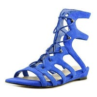 Nine West Womens zavila Open Toe Casual Slide Sandals