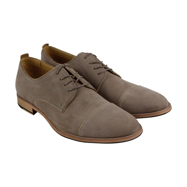 Kenneth Cole New York Begin Here Mens Tan Casual Dress Oxfords Shoes
