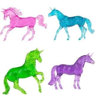 Link to Breyer Stablemates Clearware Glitter Unicorns Gift Set 1 32 Scale Similar Items in Action Figures