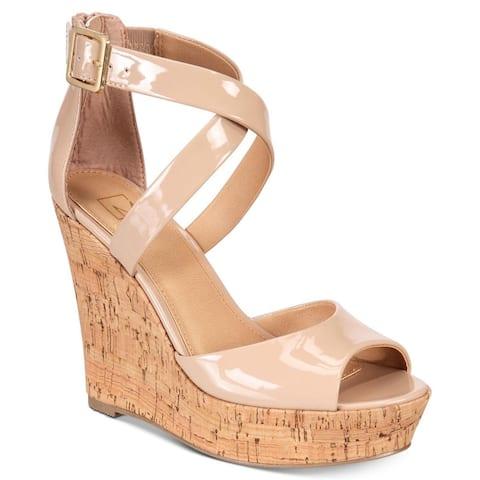 1e25f24f00af Material Girl Womens Steffy Peep Toe Casual Platform Sandals