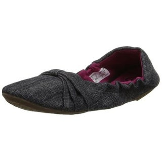 Keen Womens Canvas Slip On Ballet Flats - 7.5 medium (b,m)