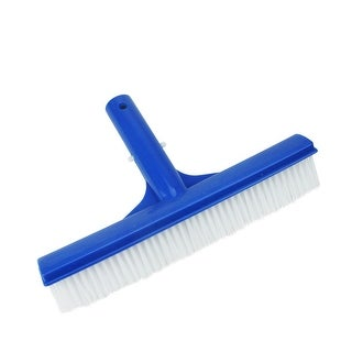 "10"" Residental Swimming Pool Floor and Wall Cleaning Brush Head - Blue"