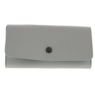 Kenneth Cole Reaction Womens Pebbled Faux Leather Clutch Wallet