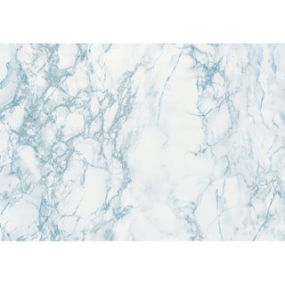 Brewster 346-0121 Grey And Blue Marble Adhesive Film