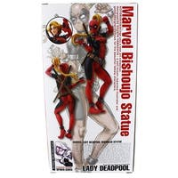 Marvel Lady Deadpool Bishoujo Statue - multi