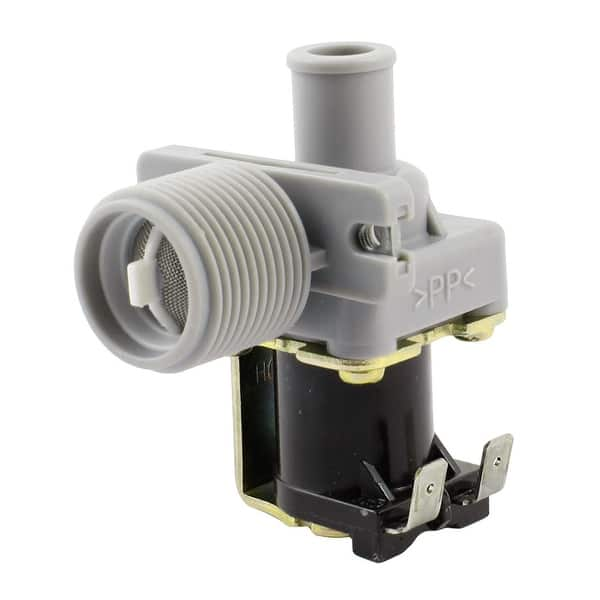 Shop Washing Machine Washer 26mm Thread Water Inlet Solenoid Valve Ac 220 240v Overstock 28884659