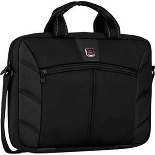 Swiss Army 605295 16 in. Laptop Slimcase Sleeve - Black