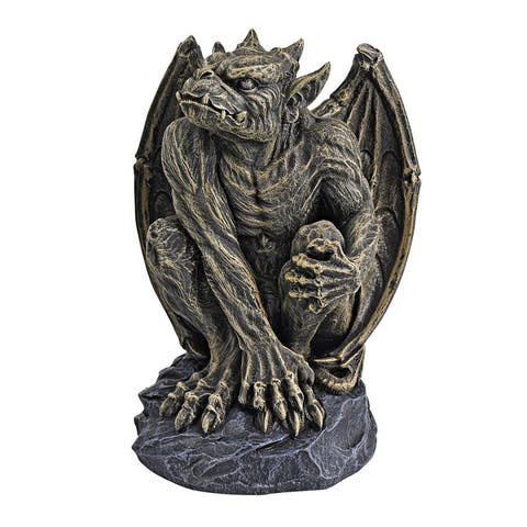 Medium Silas The Gargoyle Sentry Statue