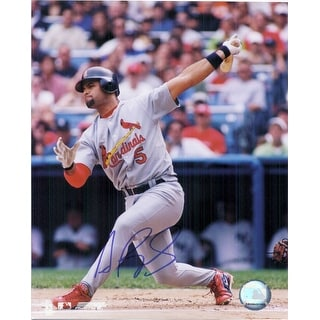Signed Pujols Albert St Louis Cardinals 8x10 Photo autographed
