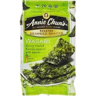 Annie Chun's - Wasabi Seaweed Snacks ( 12 - 0.35 oz boxes)