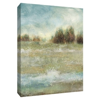 "PTM Images 9-148674  PTM Canvas Collection 10"" x 8"" - ""Meadow Enchantment"" Giclee Rural Art Print on Canvas"