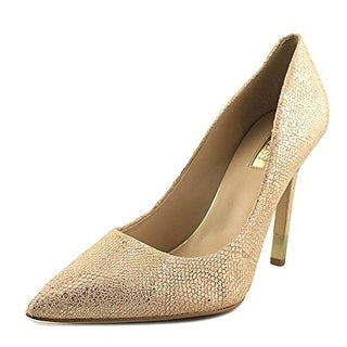 GUESS Womens Babbitta Leather Pointed Toe Classic Pumps