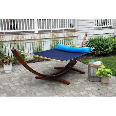 Ceara Patio Hammock Olefin Double Hammock Outdoor Patio Swing Chair - 2-Person