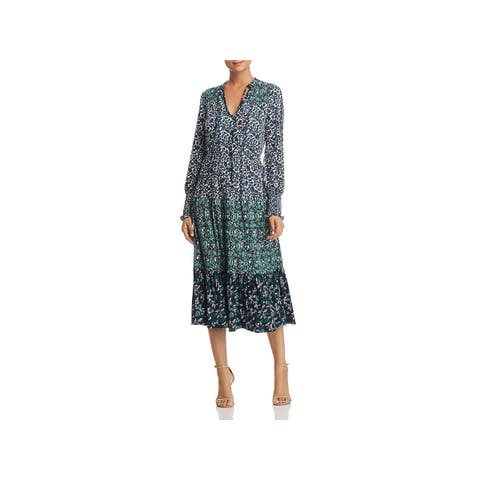c5168aaf80f1 MICHAEL Michael Kors Womens Wear to Work Dress Matte Jersey Printed