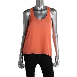 Parker Womens Silk Sleeveless Tank Top - S