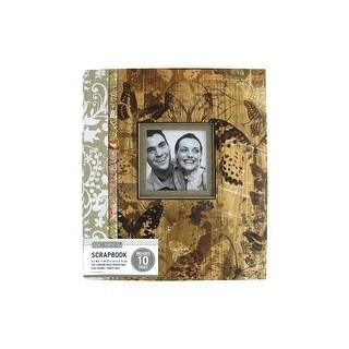 K&Co Scrapbook 8.5x11 Window Vint Floral Collage