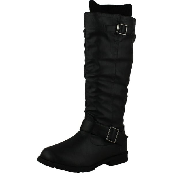 West Blvd Womens Osaka Riding Motorcycle Sweater Boots