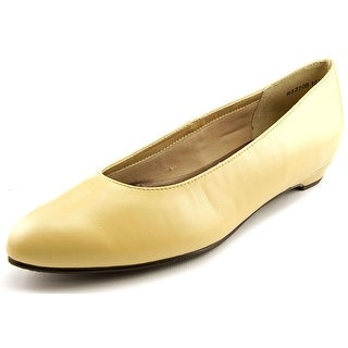 Rose Petals by Walking Cradles Butter 2 Women Round Toe Leather Tan Flats