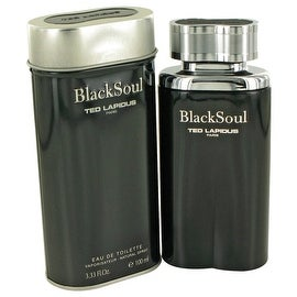 Black Soul by Ted Lapidus Eau De Toilette Spray 3.4 oz - Men