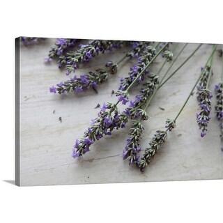 """Lavender Flowers"" Canvas Wall Art"