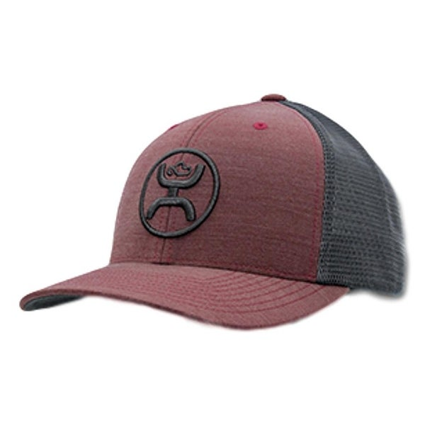 quality design 465dd 85437 Shop HOOey Hat Mens Trucker Cody Ohl Snapback One Size Burgundy Gray - Free  Shipping On Orders Over  45 - Overstock - 20560538
