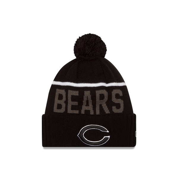 392d85f75a8 Shop New Era Chicago Bears 2015 Black Sport Knit Hat - Free Shipping On  Orders Over  45 - Overstock - 18690239