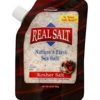 Real Salt - Real Salt Kosher Sea Salt Pouch ( 2 - 16 OZ)