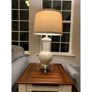 Andrea Tuscan Cream 32 Inch Table Lamp 32 H Overstock 20698317