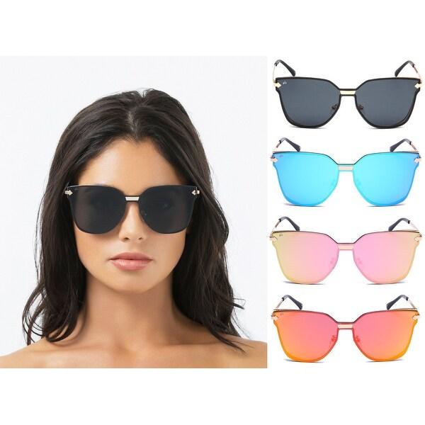 """d8e6dbeb06a PRIVÉ REVAUX """"The Madam"""" Handcrafted Designer Cat-Eye Sunglasses"""