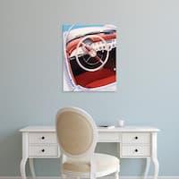 Easy Art Prints Dennis Mukai's 'Steering' Premium Canvas Art