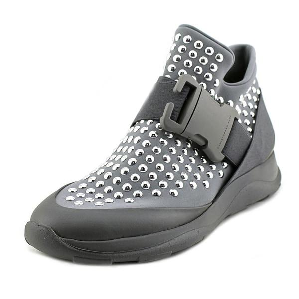 Christopher Kane High Top Sneaker + Dots Women Gray Fashion Sneakers